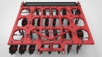 Борона дисковая навесная четырехрядная БДМ-3,4х4Н-К