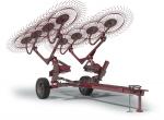 Грабли колесно-пальцевые прицепные ГКП-600 (Kolibri V)