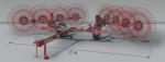 Грабли колесно-пальцевые прицепные Kolibri V