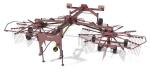 Грабли роторные прицепные ГРП-810 (Kolibri Duo)