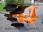 Трехкорпусный оборотный плуг ПНО-3-35